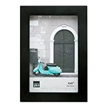 Kiera Grace Contempo Picture Frame, 4 by 6-Inch, Black