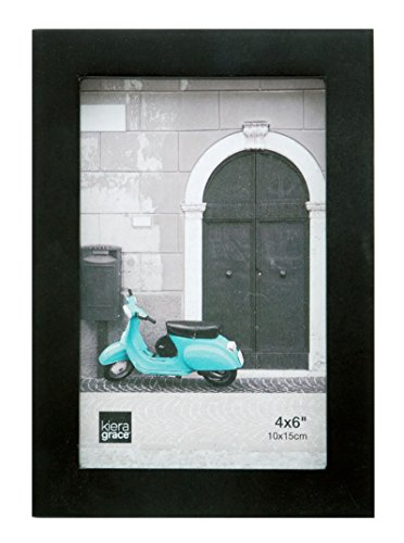 Kiera Grace Contempo Wood Picture Frame, 4 by 6-Inch, ()