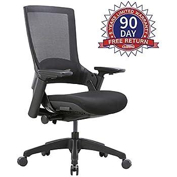 Amazon Com Ergonomic Mesh Back Ultra Office Chair With