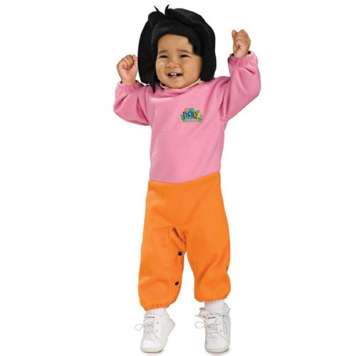 Nickelodeon Toddler Dora the Explorer, 6-12 Months Costume (Dora The Explorer Costumes)