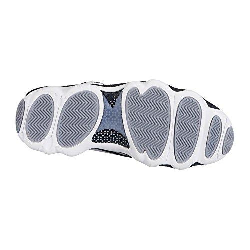 white Grey Shoes Black Basketball Black White Pro Retro Strong Jordan NIKE Wolf Red w7vXFn