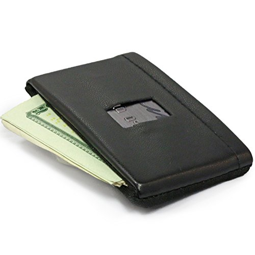 DASH Co. Minimalist Elastic Ultra Slim Compact Front Pocket Wallet