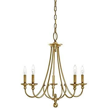 Kichler lighting camella 2177 in 5 light natural brass williamsburg kichler lighting camella 2177 in 5 light natural brass williamsburg candle chandelier aloadofball Choice Image