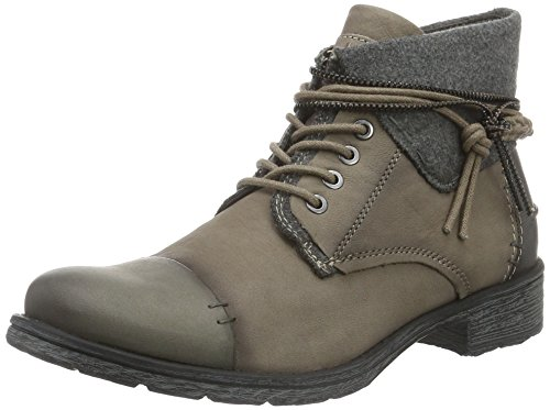 Boots grey Women Bugatti Ankle 182 J47255G TAUPE qUEF6v