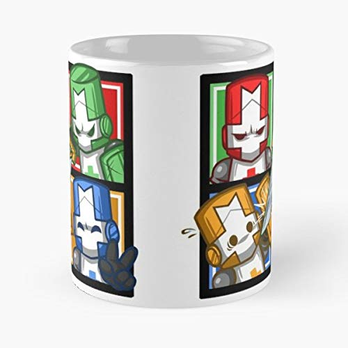 Castle Crashers Behemoth - Funny Gifts For Men And Women Gift Coffee Mug Tea Cup White 11 Oz.the Best Holidays.