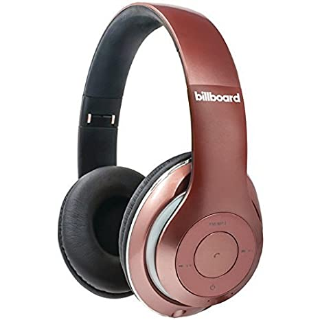 24cf1398b10 Amazon.com: Billboard Wireless Bluetooth Headphones Rose Gold: Electronics