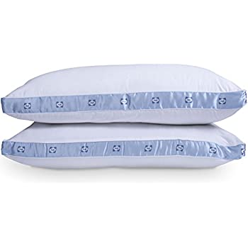 Sealy Firm Density Pillow Twin Pack - Hypoallergenic Down Alternative (Standard)
