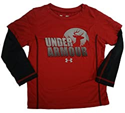 UNDER ARMOUR KIDS Gone Hunting Slider L/S Shirt Toddler