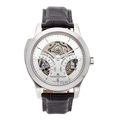 (Jaeger-LeCoultre Master Mechanical (Hand-Winding) Silver Dial Mens Watch Q1646420 (Certified Pre-Owned))