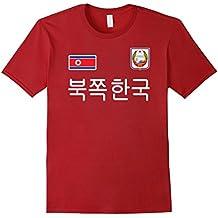 North Korea T-shirt Soccer Jersey Style .