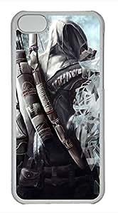 iPhone 5c case, Cute Japanese Ninja iPhone 5c Cover, iPhone 5c Cases, Hard Clear iPhone 5c Covers