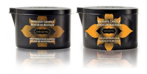 Massage Candle by Kama Sutra Variety Pack of Their Most P...