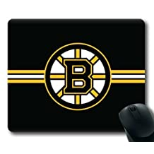 NHL Boston Bruins Logo Rectangle Mouse Pad / Mouse Mat by Acreativeshop