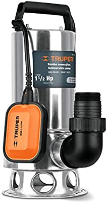 TRUPER BOS-1-1/2SM Heavy Duty Submersible Dirty Water Pumps ...