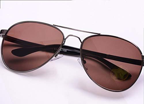RSQJ Gafas de Sol de protección de la radiación de Cristal Natural de  Piedra Protección UV 815df6a63187