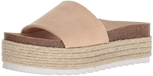 Dirty Laundry by Chinese Laundry Women's Pippa Espadrille Wedge Sandal, Sand Suede, 8 M US