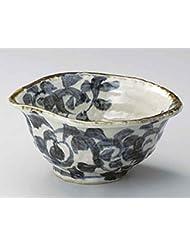 Taco Karakusa 7 7inch Set Of 10 Ramen Bowls Beige Ceramic Made In Japan