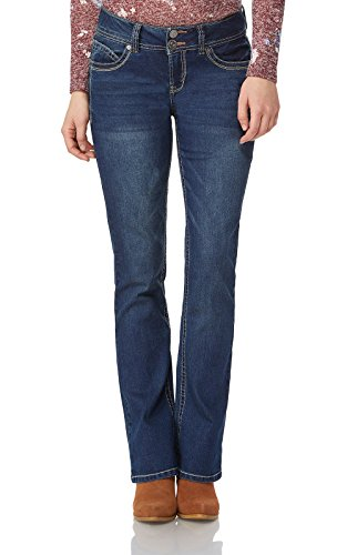 WallFlower Juniors Luscious Curvy Basic Bootcut Jeans in Katy ()