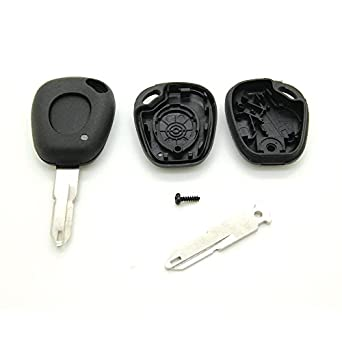 Carcasa para llave de Renault Megane Laguna Scenic Mando a ...