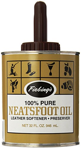 Pure Neatsfoot Oil (Fiebing's Pure Neatsfoot Oil with Applicator, 32 oz)