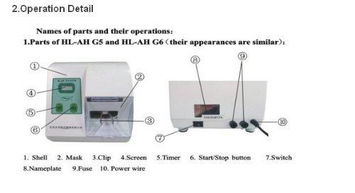 Dental Digital Amalgamator Amalgam Mixer Capsule Lab Equipment New HL-AH G6 CE Updated Version By oubo dental