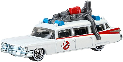 Hot Wheels, Retro Entertainment, Ghostbusters Ecto 1 Die-Cast (Ghostbusters Cast)