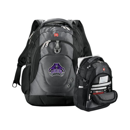 - CollegeFanGear Central Arkansas Wenger Swiss Army Tech Charcoal Compu Backpack 'UCA Bears w/Bear'