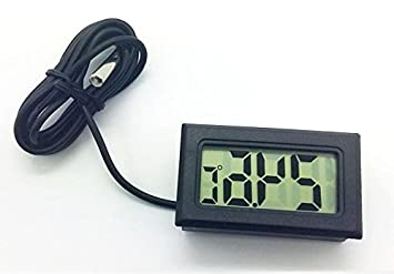 Kühlschrank Thermometer Digital : Brandneu digital lcd thermometer temperaturmesser für kühlschrank