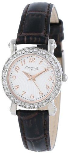 Caravelle by Bulova Women's 43L126 Full 44 Crystal Bezel Watch