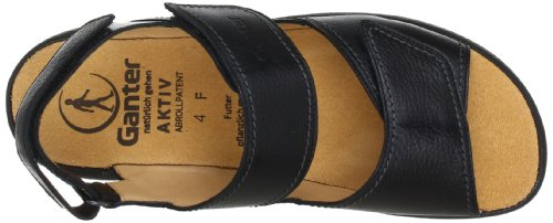 Ganter AKTIV Fabia, Weite F 5-202321-01000, Sandali donna Nero(schwarz (Schwarz 0100))