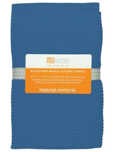 MUkitchen Microfiber Waffle Dishtowel Inches