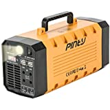 Pinty Portable Uninterrupted Power Supply 500W, UPS Battery Backup, Rechargeable Generator Power Source with AC Inverter, USB, DC 12V Outputs for Outdoors and Indoors (500W/288Wh/12V 26Ah Yellow)
