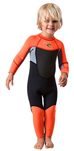Rip Curl Kids D/patrol 32fl STMR Wetsuits, 2, Orange/Orange by Rip Curl