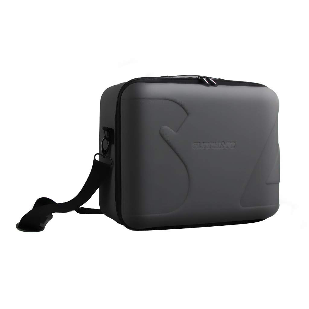 Tronet Drone Bag PU+EVA Hard Waterproof Carrying Case Cover Storage Bag Box for DJI Spark by Tronet (Image #1)
