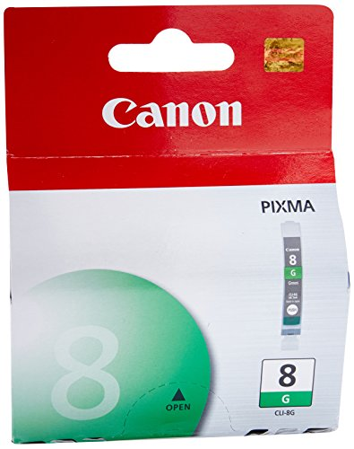 Canon CLI-8 Green Ink Tank Compatible to Pro9500, Pro9500 Mark II