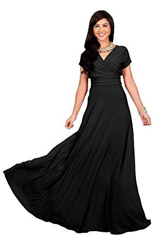 long black gala dresses - 2