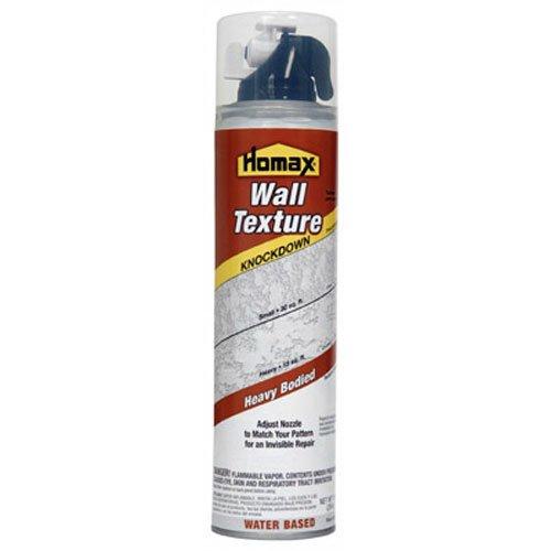 - Homax 4060 Knockdown Spray Texture Water-Base, 10-Ounce