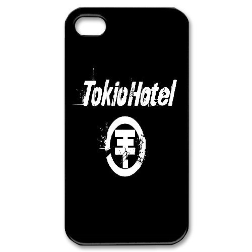 Tokio Hotel Phone Case And One Free Tempered-Glass Screen Protector For iPhone 4,4S T227899