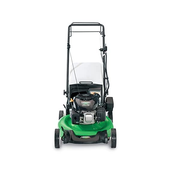 Lawn-Boy 17734 21-Inch 6.5 Gross Torque Kohler Electric Start XTX OHV, 3-in-1 Discharge Self Propelled Lawn Mower 2 Electric start is the easiest way to start your mower; just turn the key and mow 2-Point Height-of-Cut System allows you to quickly adjust cutting heights from one side of the mower 3 year Tru-Start Commitment - starts with 1 or 2 pulls or Lawn-Boy will fix it for free