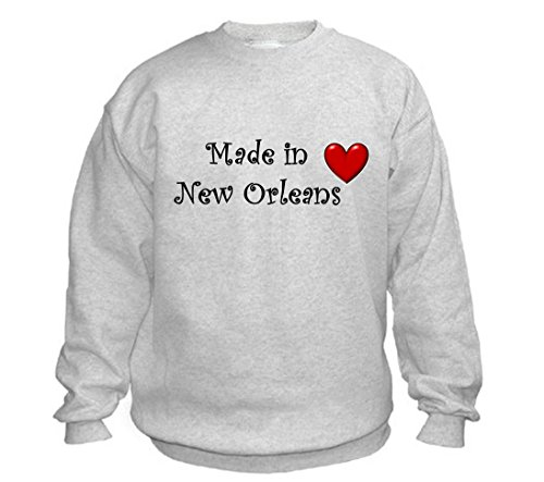 MADE IN NEW ORLEANS - City-series - Light Grey Sweatshirt - size XXL]()