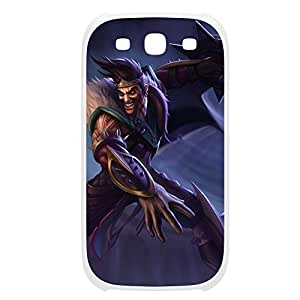 Draven-001 League of Legends LoL case cover Samsung Galaxy S5 I9600/G9006/G9008 Plastic White