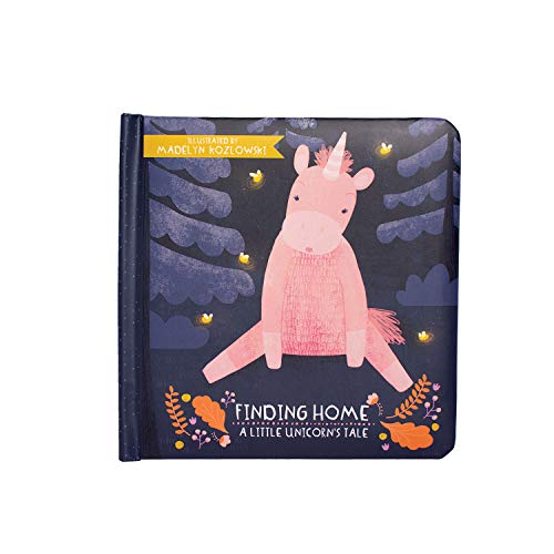 Manhattan Toy Finding Home - A Little Unicorn's Tale Baby Board Book, Ages 6 Months and up