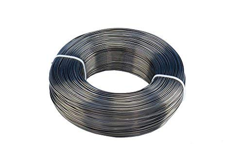 500 gm Premium Professional 1.0mm Anodized Aluminum Bonsai Wire/Training Wire(500gm/740ft) Bonsai Tools Easy to Use and Work with. Available in 1mm, 1.5mm,2mm,2.5mm,3mm,3.5mm,4mm(L500-1)) by BonsaiSupplies