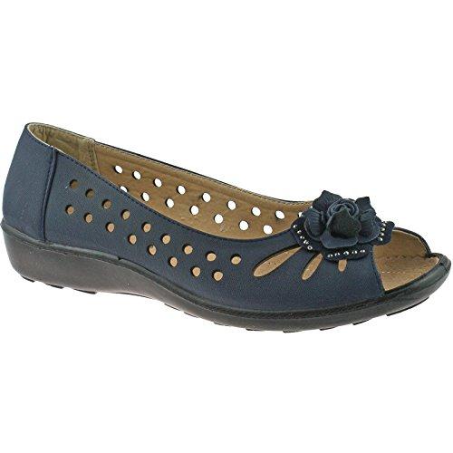 Boulevard - Zapatos de vestir para niña Navy Blue PU