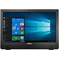 MSI Pro 24T 4BW-013US 23.6 Touchscreen All-in-One Computer Pentium N3710 4GB 1TB Windows 10