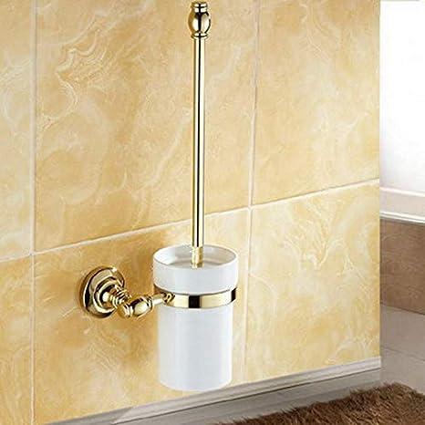 Joeesun Accesorios de baño: Colección de latón Dorado ...