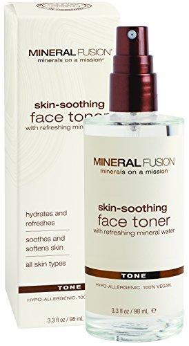 Минеральная Fusion Природные Бренды кожи Успокаивающий Тоник для лица, 3,3 эт. унция / 98 мл.