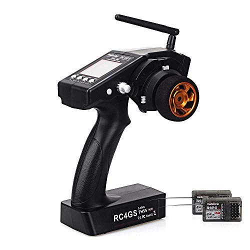 RadioLink RC4GS 4CH 2.4GHz Radio RC Transmitter with R6FG Gyro RC Receiver Radio Remote Controller for RC Car Boat