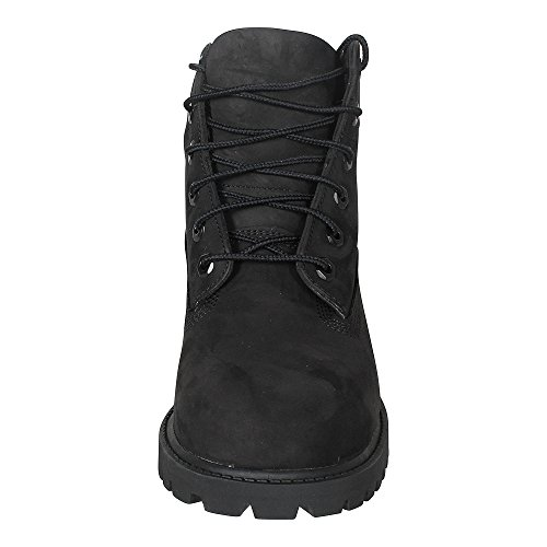 Black Unisex Timberland Premium Waterproof Kids Boots 6 in nubuck Classic PprWP8a