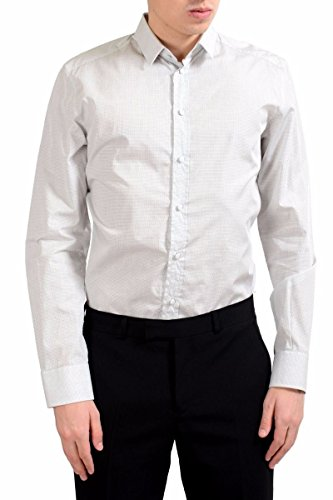 Dolce & Gabbana Men's Plaid Long Sleeve Dress Shirt US 15.75 IT 40
